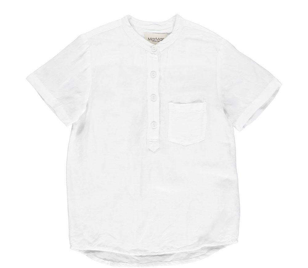 linnen blouse wit