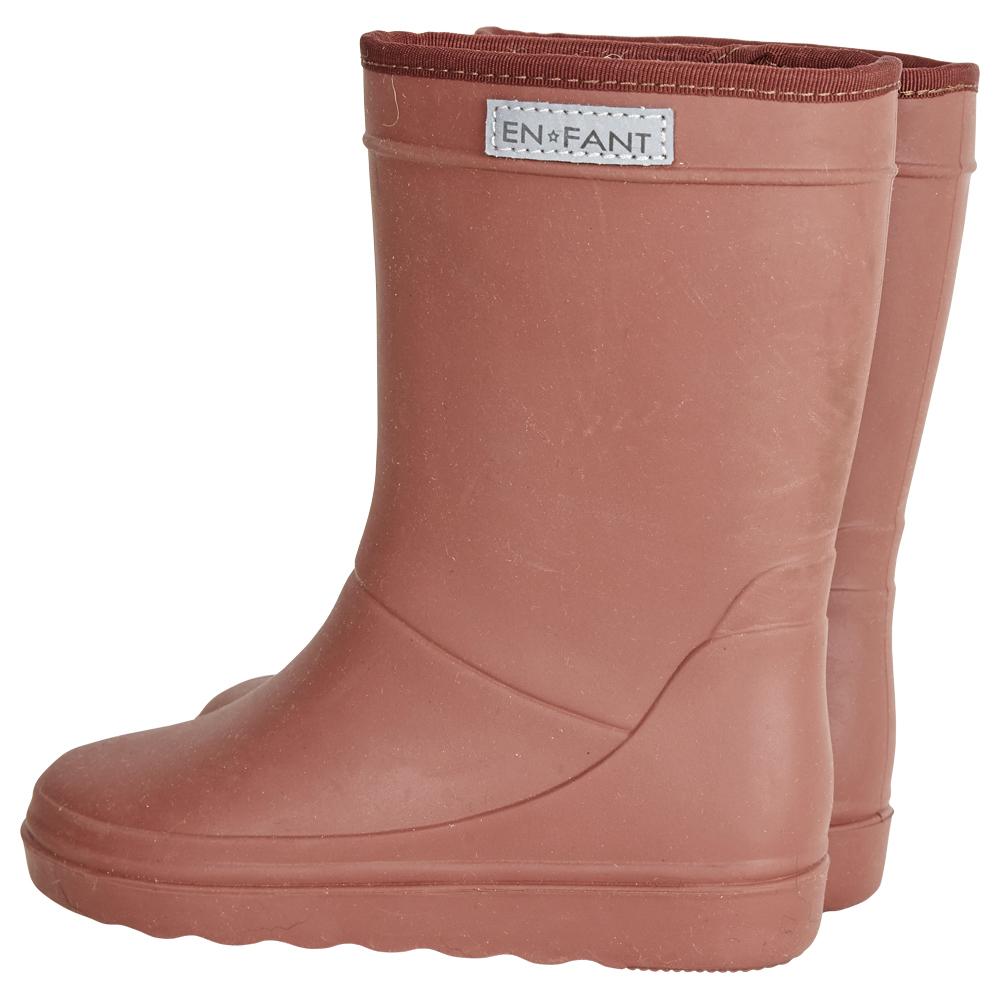 EnFant thermo boots black wol gevoerde laarzen regenlaarzen