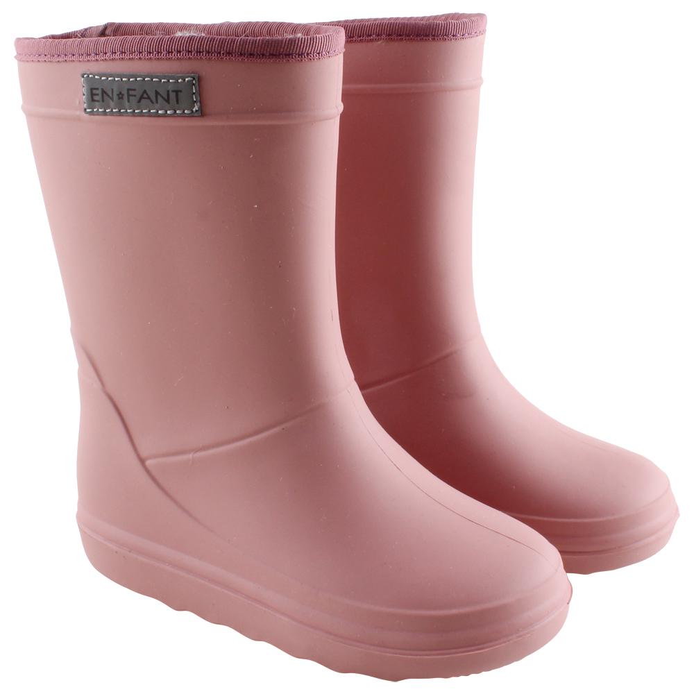 EnFant thermo boots camel wol gevoerde laarzen regenlaarzen oranje bruin